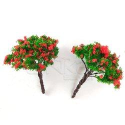Jordania Ağaç Maketi Metal 5cm 1/200 2li 50B - Thumbnail