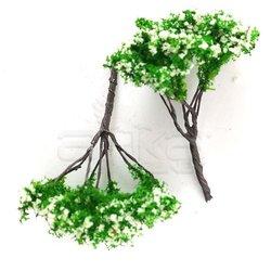 Jordania - Jordania Ağaç Maketi Metal 5cm 1/200 2li 50C (1)