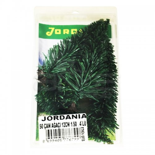 Jordania Çam Ağacı Maketi 12cm 1/50 4lü Kod:50