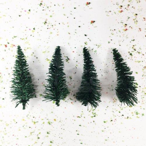 Jordania Çam Ağacı Maketi Ayaksız 12cm 1/50 4lü Kod:59A