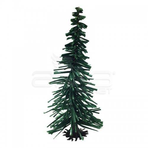 Jordania Çam Ağaçı Maketi Ayaklı 8cm 1/100 10lu Kod:49