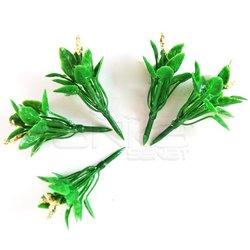 Jordania Çiçek Maketi Pudra 2.5cm 5li FL3225P - Thumbnail