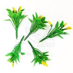 Jordania - Jordania Çiçek Maketi Sarı 2.5cm 5li FL3225S (1)