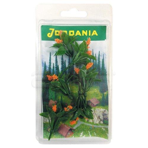 Jordania Çiçek Maketi Turuncu 3.5cm 6lı FL3235T