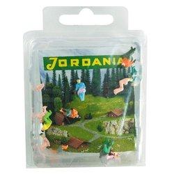 Jordania İnsan Maketi Boyalı Oturan 1/100 12li - Thumbnail