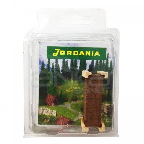 Jordania Maket Ahşap Saksı 1/50 MS050
