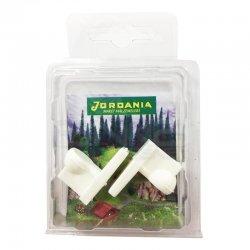 Jordania Maket Klozet 1/25 2li BFJ125-02 - Thumbnail