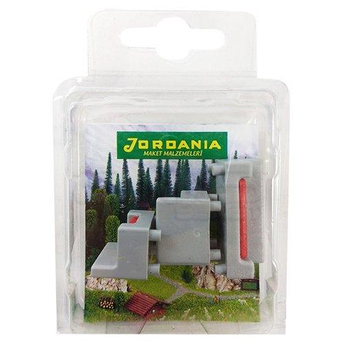 Jordania Maket Koltuk Takımı Gri 1/50 SF225052