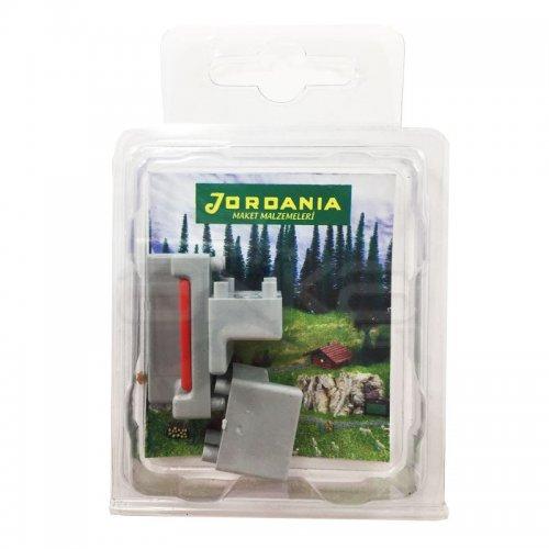 Jordania Maket Koltuk Takımı Gri 1/50 3lü SF225052
