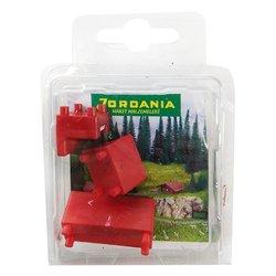Jordania Maket Koltuk Takımı Kırmızı 1/50 SF225051 - Thumbnail