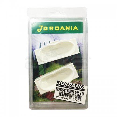 Jordania Maket Küvet 1/25 2li BFJ125-01