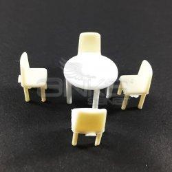 Jordania Maket Masa ve Sandalye Takımı 1/50 5li EF4054 - Thumbnail