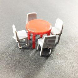 Jordania Maket Masa ve Sandalye Takımı 1/50 5li EF4058 - Thumbnail