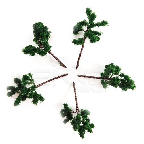 Jordania Metal Ağaç Maketi 3.5cm 1/200 5li G3517