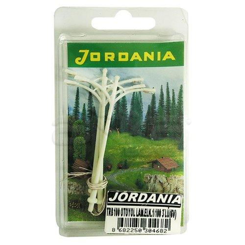 Jordania Otoyol Lambası Elektrikli Çiftli 6V 1/100 3lü TRB100