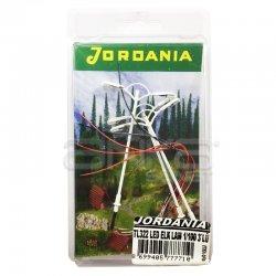 Jordania - Jordania Maket Sokak Lambası Led Elektrikli Çiftli 1/100 3lü TL322-100