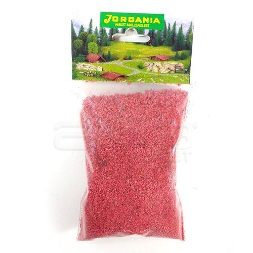 Jordania Toz Çim Maketi 50g Kırmızı 04107