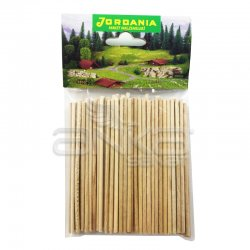 Jordania - Jordania Yuvarlak Çubuk 3mm 10cm 100lü ÇY103