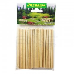 Jordania - Jordania Yuvarlak Çubuk 4mm 10cm 50li ÇY104