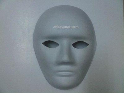 Kağıt Maske Küçük Boy KOD: 601 22cmx17cm