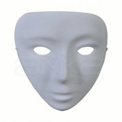 Anka Art - Kağıt Maske Yarım Alın Kod:607 24cmx18cm