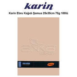 Karin - Karin Ebru Kağıdı Şamua 25x35cm 70g 100lü
