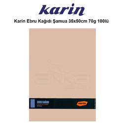 Karin - Karin Ebru Kağıdı Şamua 35x50cm 70g 100lü