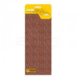 Eshel - Eshel Kırmızı Tuğla Desenli Karton Duvar 1/50 Paket İçi:3