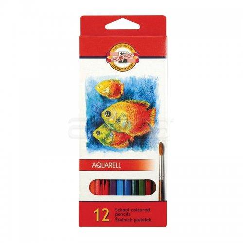 Koh-i-Noor Aquarell Pencil Sulu Boya Kalemi Balık 12li 3716