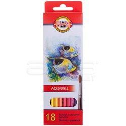 Koh-i-Noor Aquarell Pencil Sulu Boya Kalemi Balık 18li 3717 - Thumbnail