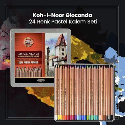 Koh-i-Noor Gioconda 24 Renk Pastel Kalem Seti