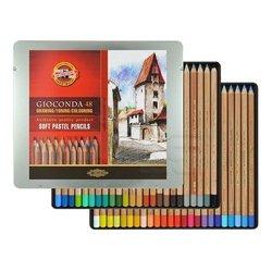 Koh-i-Noor Gioconda 48 Renk Pastel Kalem Seti - Thumbnail