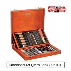 Koh-i-Noor Gioconda Artist Set Ahşap Kutu Çizim Seti 8896 1DK - Thumbnail