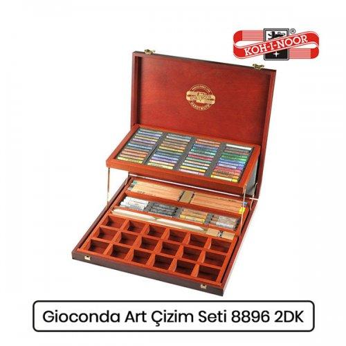 Koh-i-Noor Gioconda Artist Set Ahşap Kutu Çizim Seti 8896 2DK