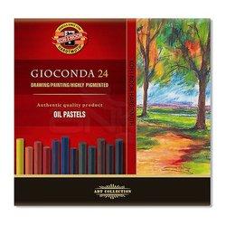Koh-i-Noor Gioconda Oil Pastel Seti 24lü 8354 - Thumbnail