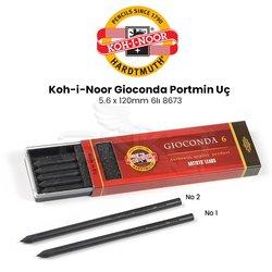 Koh-i-Noor Gioconda Portmin Uç 5.6 x 120mm 6lı 8673 - Thumbnail