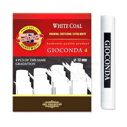 Koh-i-Noor Gioconda White Coal 4lü Set Soft 8692/2