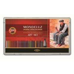 Koh-i-Noor Mondeluz Aquarell Art Set Çizim Seti 3796 - Thumbnail
