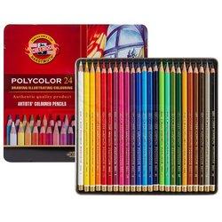 Koh-i-Noor Polycolor Kuru Boya Kalemi 24lü Set - Thumbnail