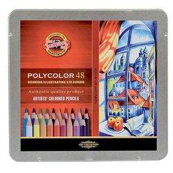Koh-i-Noor Polycolor Kuru Boya Kalemi 48li Set - Thumbnail