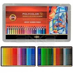 Koh-i-Noor Polycolor Kuru Boya Kalemi 72li Set 3827 - Thumbnail