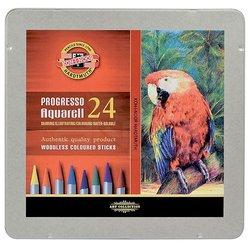 Koh-i-Noor - Koh-i-Noor Progresso Aquarell Woodless Coloured Pencil Set 24lü