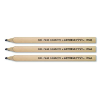 Koh-i-Noor Sketching Pencil Yassı Uçlu Geniş Çizim Kalemi - 1538