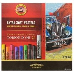 Koh-i-Noor Toison Dor Extra Soft Pastel 24lü (8554) - Thumbnail