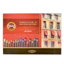 Koh-i-Noor - Koh-i-Noor Toison Dor Soft Pastel Boya 36lı (8515) (1)