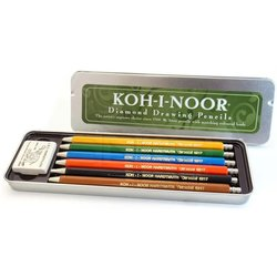 Koh-i-Noor - Koh-i-Noor Versatil Kalem Seti 6lı 5217 HB 2mm (1)