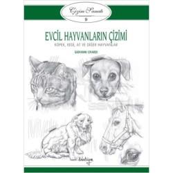 Koleksiyon Yayınları Evcil Hayvanların Çizimi - Thumbnail