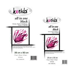 Kosida - Kosida All in One Block Resim Defteri 30 Yaprak
