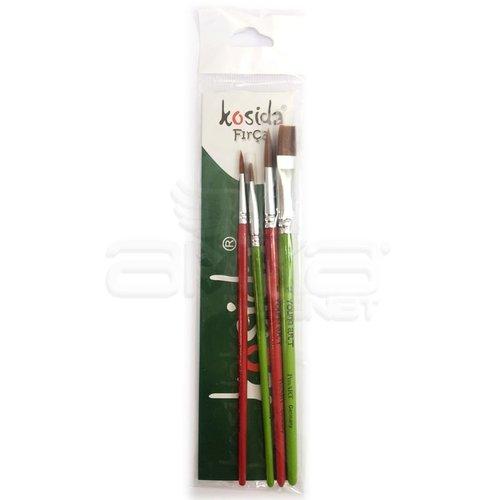 Kosida Fırça Seti Kod:KF89/4-SET