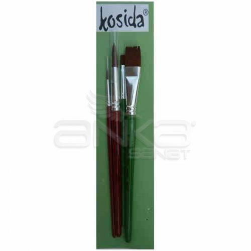 Kosida Seri Fırça Seti KFSET-79-4